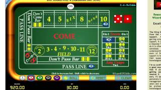 Best CRAPS Strategy - turn $300 into $4000+