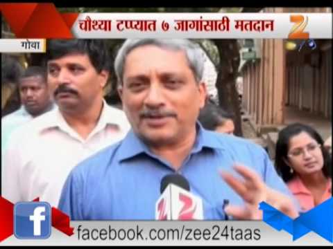 Goa CM Manohar Parikar On Election Voting