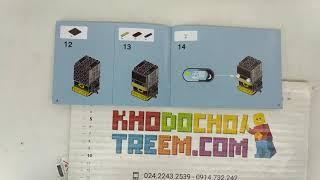 Hướng dẫn lắp ráp Decool 6821 Lepin 43019 Bela 10762 Lego BrickHeadz 41585 Batman giá sốc rẻ nhất