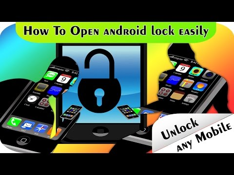 How To Unlock any Android Password or Pattern .without password and without rooting device