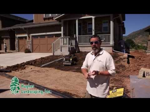 Landscaping Design and Installation by Hughes Landscaping, Inc., Parker, CO