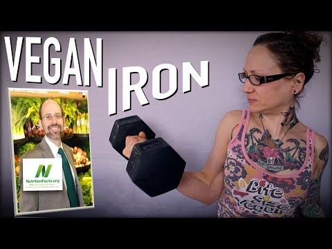 Pale, Weak & Vegan? Getting Iron In A Vegan Diet | Dr.  Michael Greger of Nutritionfacts.org