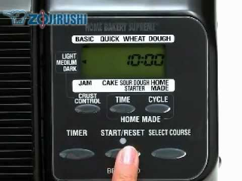 How to Use Your Zojirushi Breadmaker