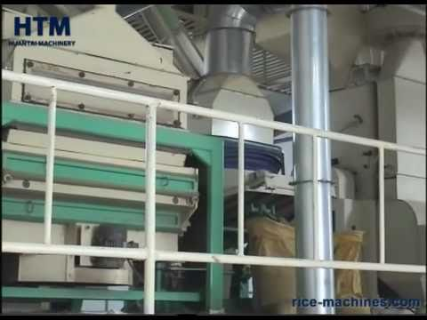 MCHJ100  Complete Set Rice Milling Equipment / Modern Rice Mill Plant