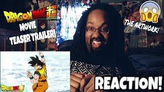 OMG! A NEW ADVENTURE FOR GOKU! DRAGON BALL SUPER MOVIE TEASER TRAILER REACTION