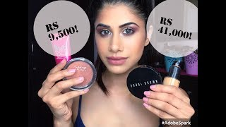 HIGH END vs DRUGSTORE Make-up | Malvika Sitlani