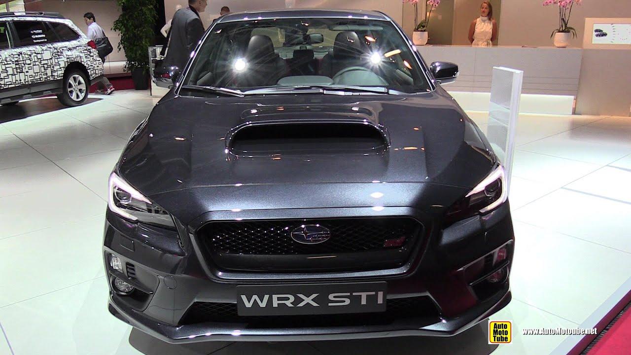 2015 Subaru WRX STI - Exterior and Interior Walkaround ...