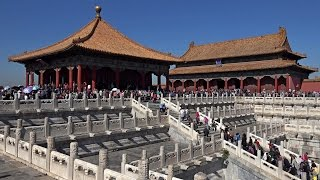 Forbidden City, Beijing, China in 4K (Ultra HD)