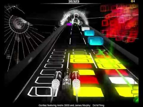 Gorillaz featuring André 3000 and James Murphy - DoYaThing (Audiosurf)
