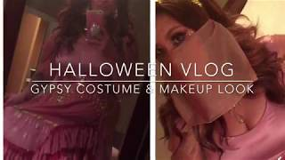 Halloween Vlog and this year's gypsy costume