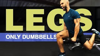 Top 5 Leg Exercises With Dumbbells: Hit Your Quads, Glutes, and Hamstrings!