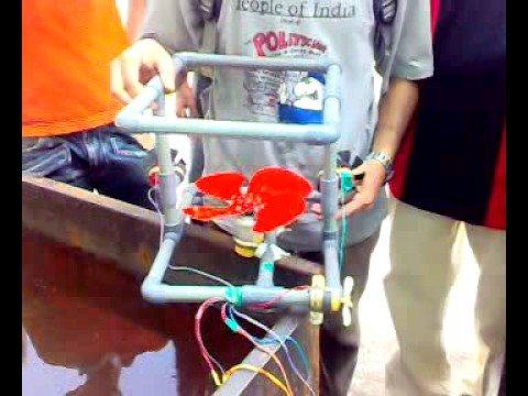 prototype of an underwater robot