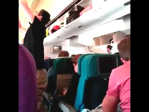 [ORIGINAL] Last Video Footage Taken On Flight MH17 Before Shot Down