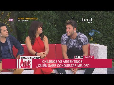 ¿Quiénes son más seductores: chilenos o argentinos?