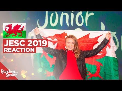 REACTION Erin Mai - Calon yn Curo | Wales Junior Eurovision 2019