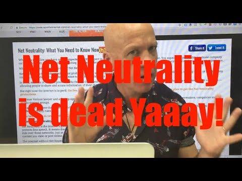 Net Neutrality Was Bad