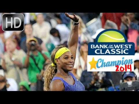 Serena Williams vs Angelique Kerber*Stanford-Bank of The West*Highlights-2014
