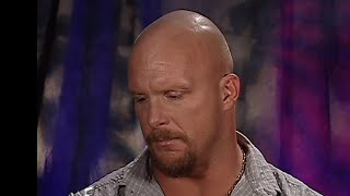 """Stone Cold"" Steve Austin addresses the WWE Universe after the Sept. 11, 2001 attacks: SmackDown"