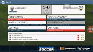 Dream league soccer- Bölüm 2(ibrahimovic gol show)