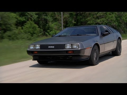 DMC's New Electric Delorean -- TUNED
