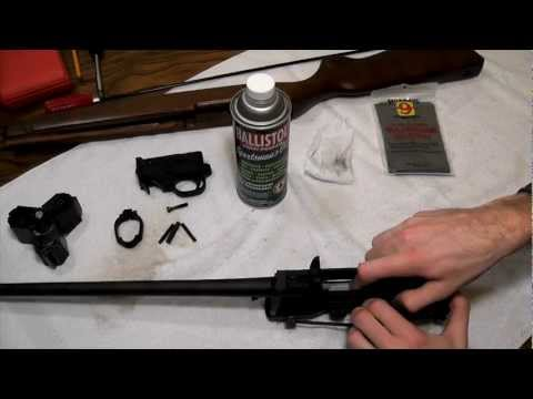 Ruger 10/22 Reassemble