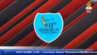Pakistan Vs India Volleyball Final 13th South Asian Games Nepal 2019