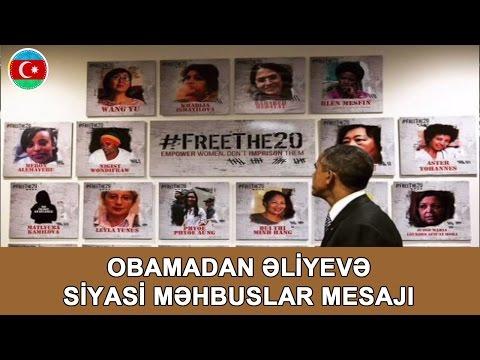 İntiqam Əliyev Azadlıqda Ve Obamanın İlham Əliyevə Mesaji #348