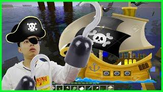 ThắnG Tê Tê Tìm Thấy Con Tàu Ma Trong Minecraft