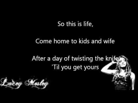 Bury Your Heart Lyrics - Flyleaf