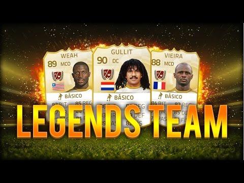 FIFA 15   GULLIT!! EQUIPAZO DE LEYENDAS!!