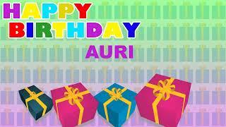Auri - Card Tarjeta_1282 - Happy Birthday