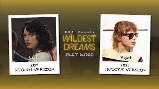 Download lagu Taylor Swift - Wildest Dreams (Stolen vs Taylor's Version Split Audio)