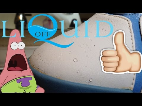 Liquid Off Product Review! How To Protect Your Sneakers! Best WaterProof Product!