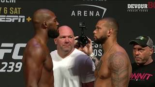UFC 239: Weigh-in Faceoffs