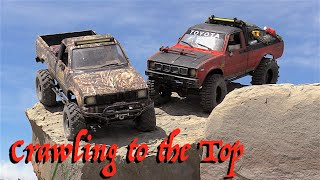 RC CWR Crawling to the Top with 2 RC4WD Trail Finder II