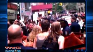 TruthSquad.tv Report: NYPD Mace Peaceful Young Girls #OccupyWallSt