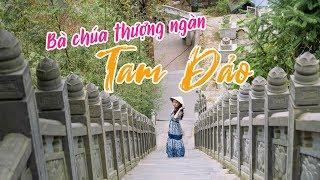 Tới thăm Đền Bà Chúa Thượng Ngàn nằm sâu trong rừng trúc để ngắm thị trấn Tam Đảo trọn vẹn