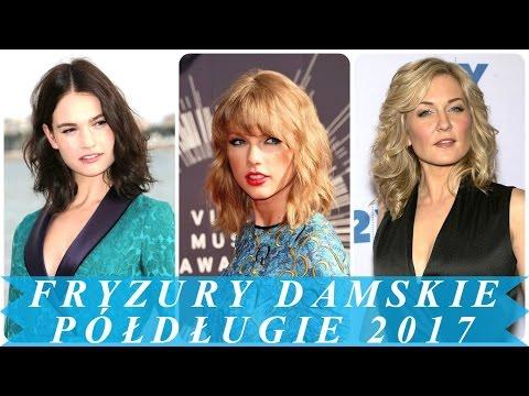 Modne Fryzury średnie Włosy Na Lato 2017 Damskie