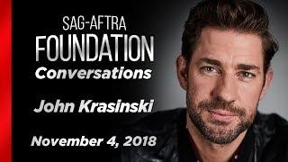 Conversations with John Krasinski