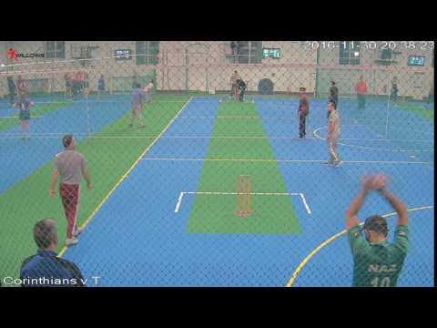 409171 Court2 Willows Sports Centre Cam3 Corinthians v The Sticky Wickets Court2 Willows Sports Cen