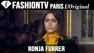 Ronja Furrer | Model Talk EXCLUSIVE | Fall/Winter 2014-15 | FashionTV