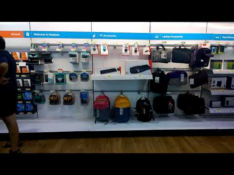 Brief Walkthrough of Microsft Store Inside Best Buy Pt. 2
