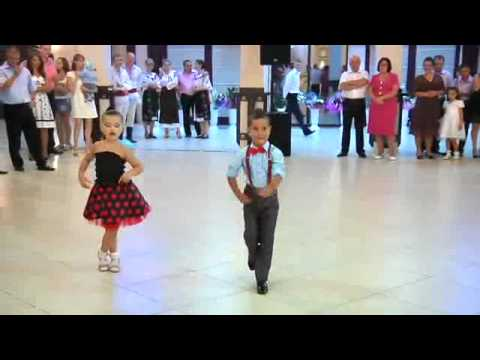 Cool Kids Ballroom Dance In A Shopping Mall video