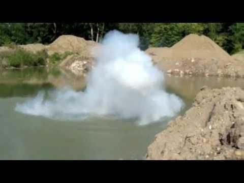Anderson University Sodium Toss Explosion YouTube