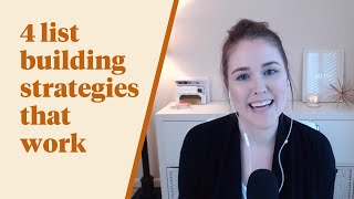 TFS 026: 4 List Building Strategies That Work