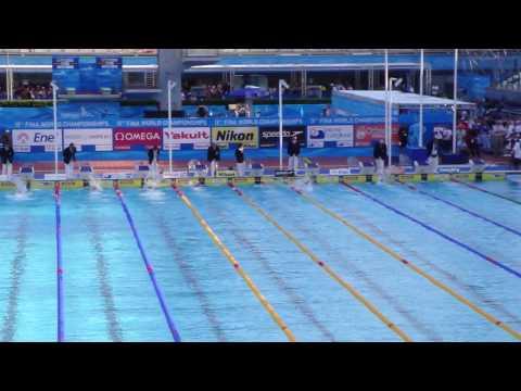 Brought by www.wildswim.cat - World Champs Rome: 100 Free Final - WR Cielo Filho, Alain Bernard, Frederick Bousquet, Brent Hayden, David Walters, Stefan Nyst...