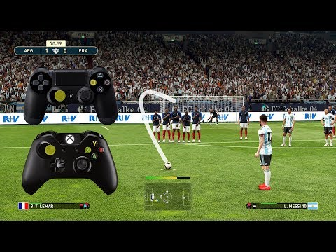 PES 2019 FREE KICK TUTORIAL | Xbox & Playstation | HD 1080p