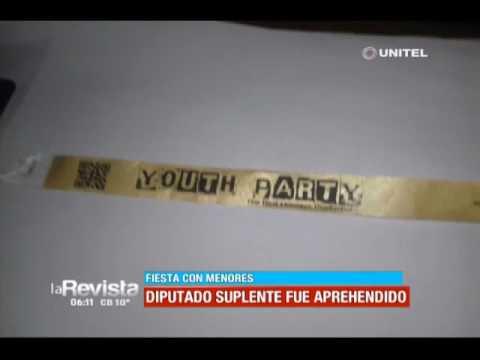 VIDEO: DETIENEN A UN DIPUTADO SUPLENTE DEL MAS ACUSADO DE CORRUPCIÓN DE MENORES