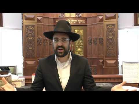 """הרב מאיר אליהו שליט""""א - הכנה לחג שבועות - חלק א' - משכן יהודה - בחוקותי תשע""""ט"""