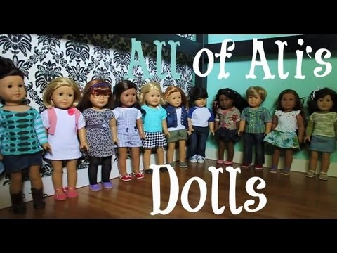 All My Dolls as of September 30th 2012